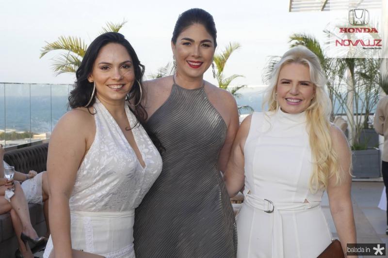 Juliana Pinheiro, Izabela Fiuza e Sandra Mourao