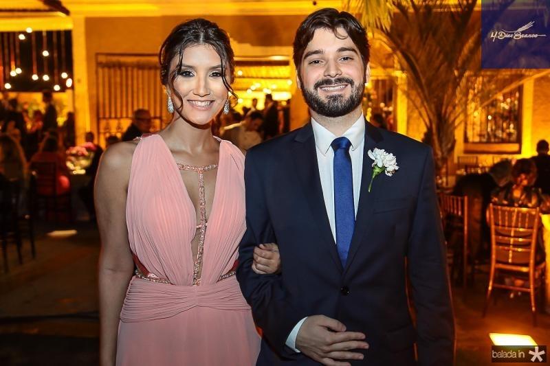 Carolina Bandeira e Victor Cavalcante