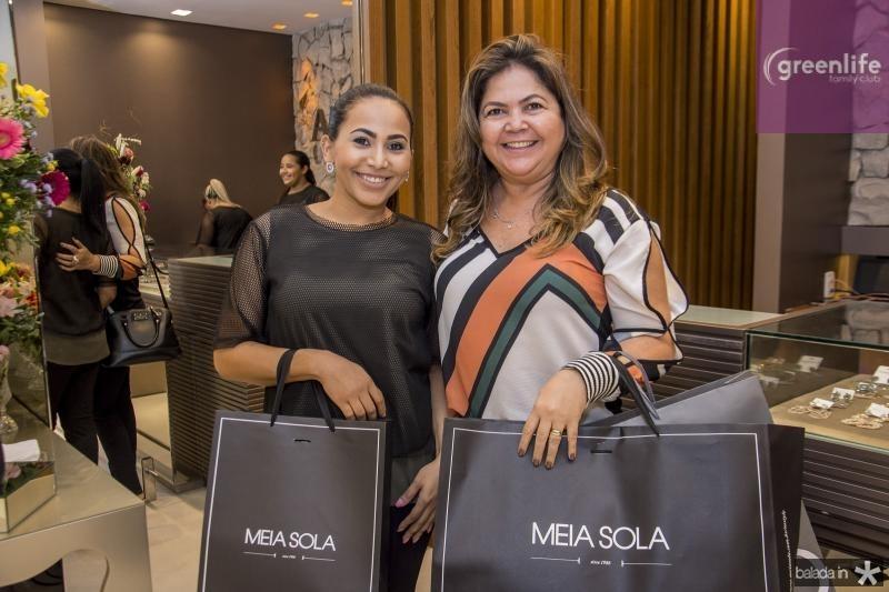 Camile Pereira e Silvia Melo