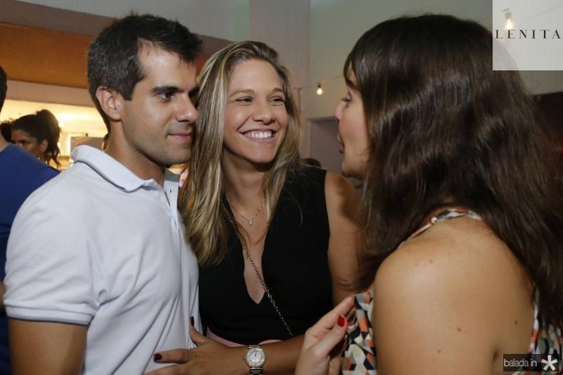 Alan e Camila Oliveira e Ana Luiza Cordeiro