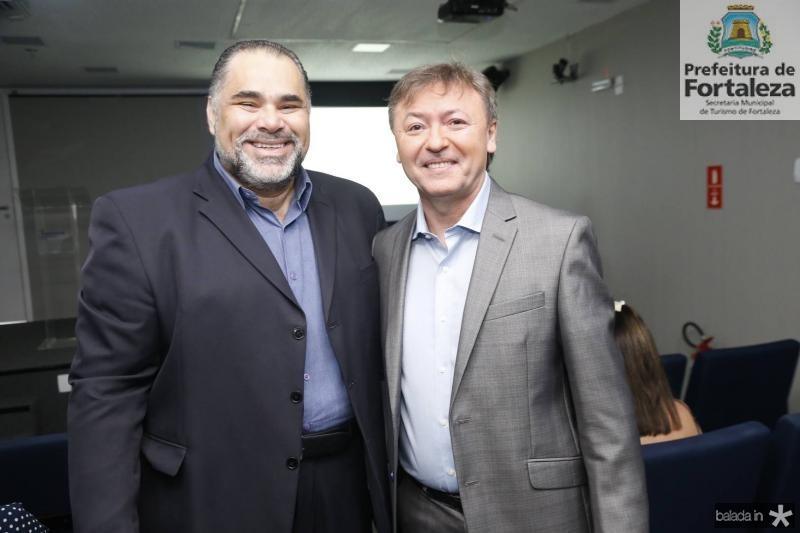 Edson Junior e Mauricio Filizola