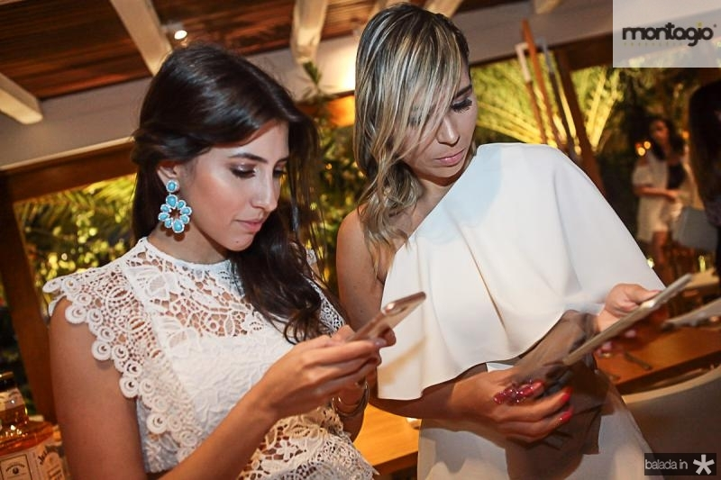 Tayra Romcy e Grazi Nogueira