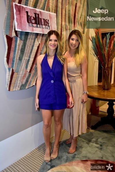 Rayana Araujo e Amanda Rodrigues