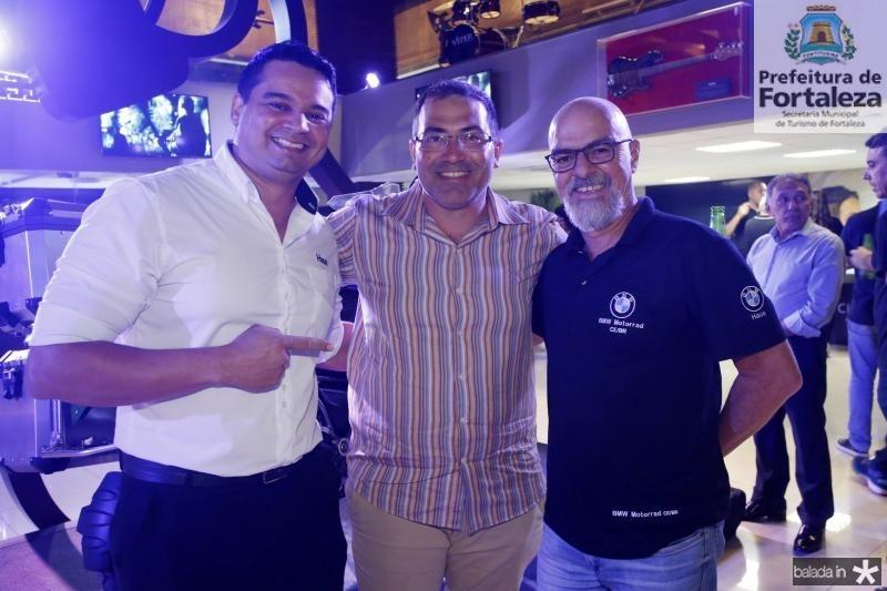 Andre Dias, Franze Freire e Sergio Brito