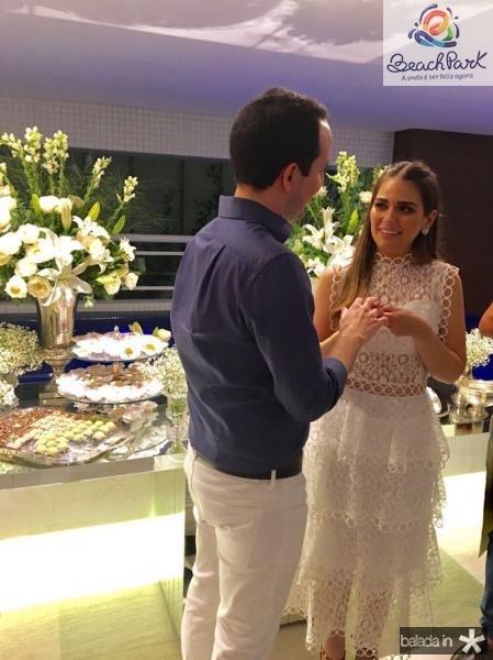 Manuela Câmara e Tomas Moraes