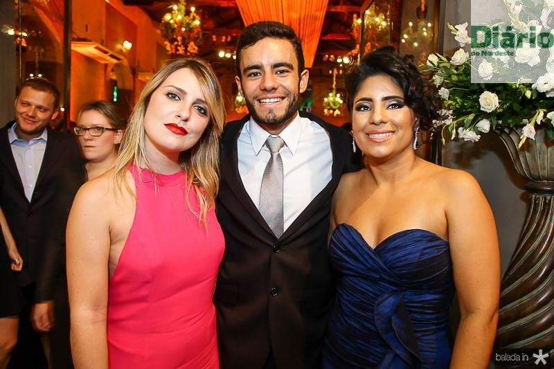 Heloisa Canavarro, Bruno Mendes e Bianca Costa