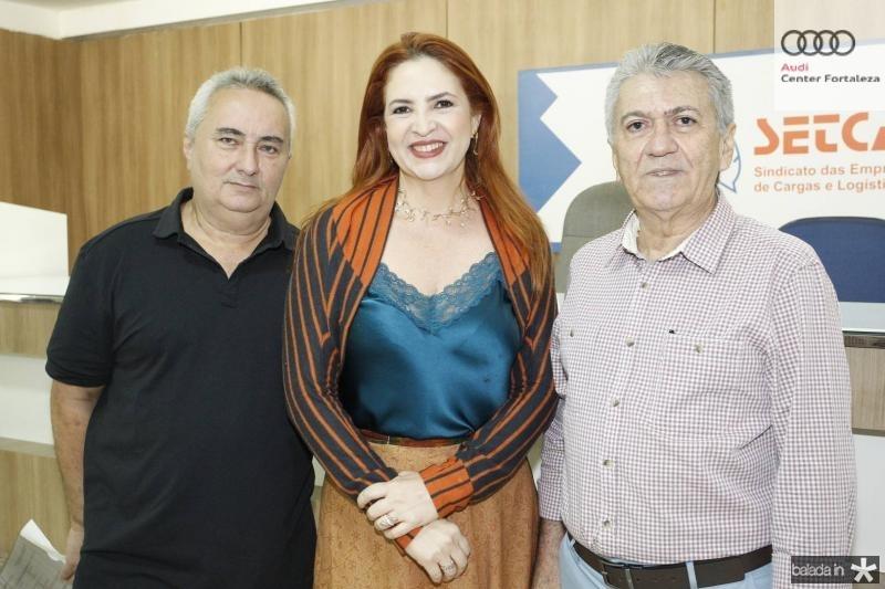 Francisco Pontes, Enid Camara e Clovis Nogueira