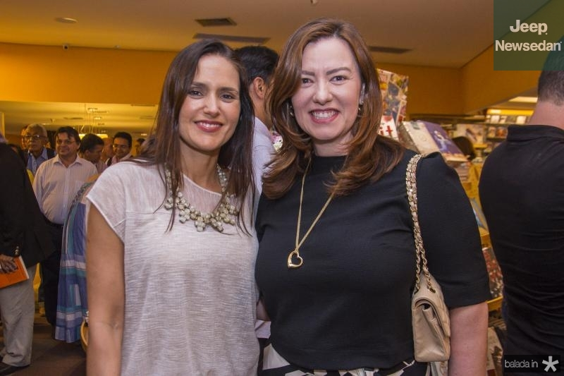 Manoela Bacelar e Aline Barroso