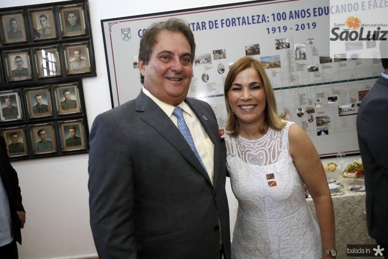 Alberto Bardawil e Maira Pinheiro