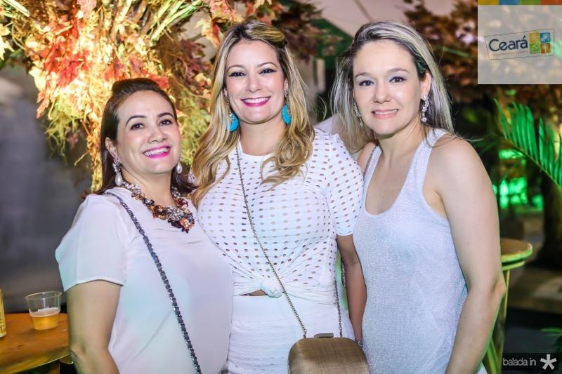Cristiane Albuquerque, Tatiana Luna e Erica Lima
