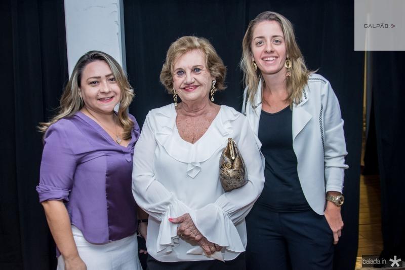 Anita Erica, Rosaly Moura e Livia Holanda