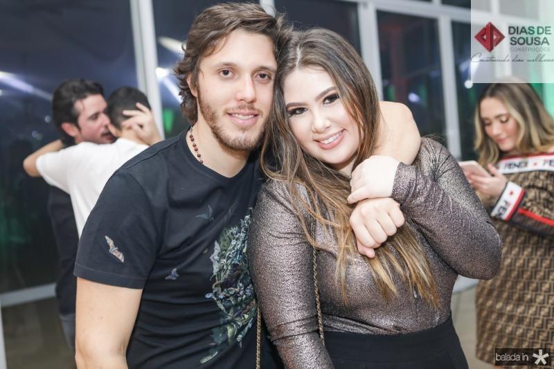 Aluizio e Marcela Dias Branco