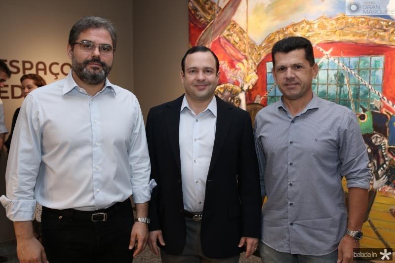 Edson Neto, Igor Barroso e Erick Vasconcelos
