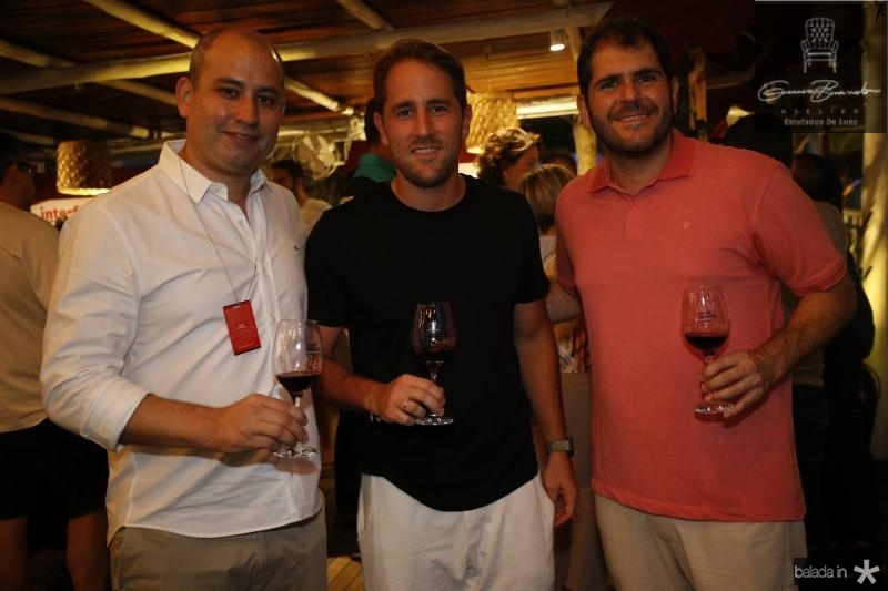 Andre Linheiro, Rodrigo Frota e Eduardo Castelao