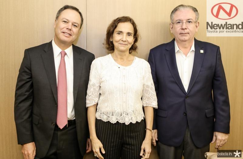 Gregorio Gutierrez, Izolda Cela e Ricardo Cavalcante
