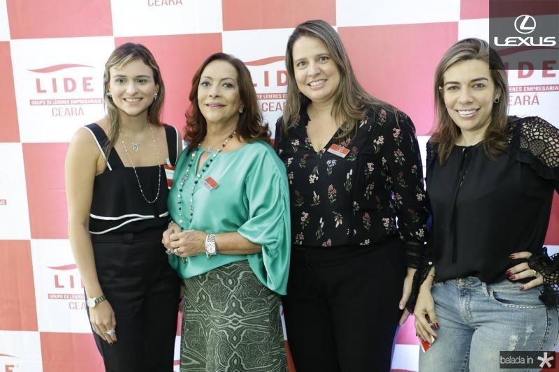 Ana Cristina Colasso, Sandra Costa, Luciana Colares e Claudenia Regia