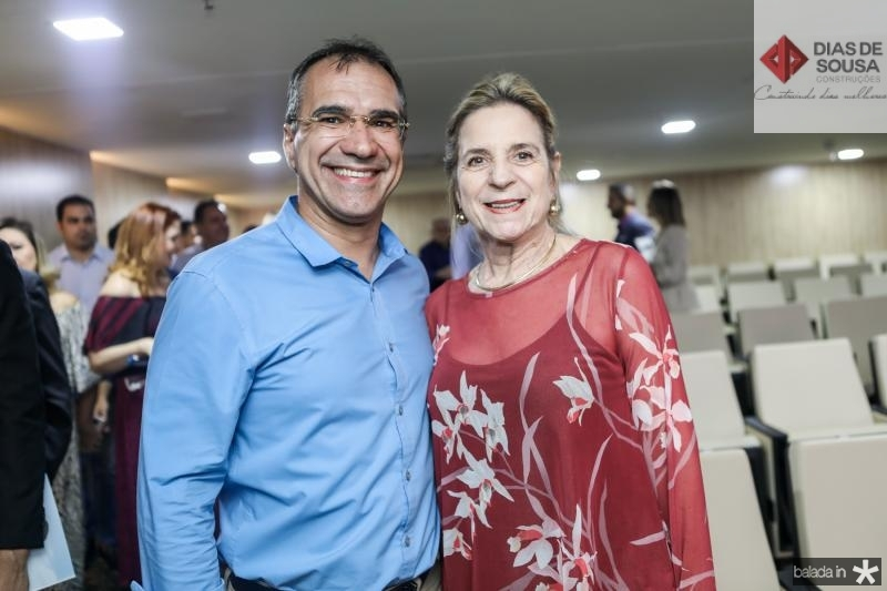 Eduardo Neves e Anya Ribeiro