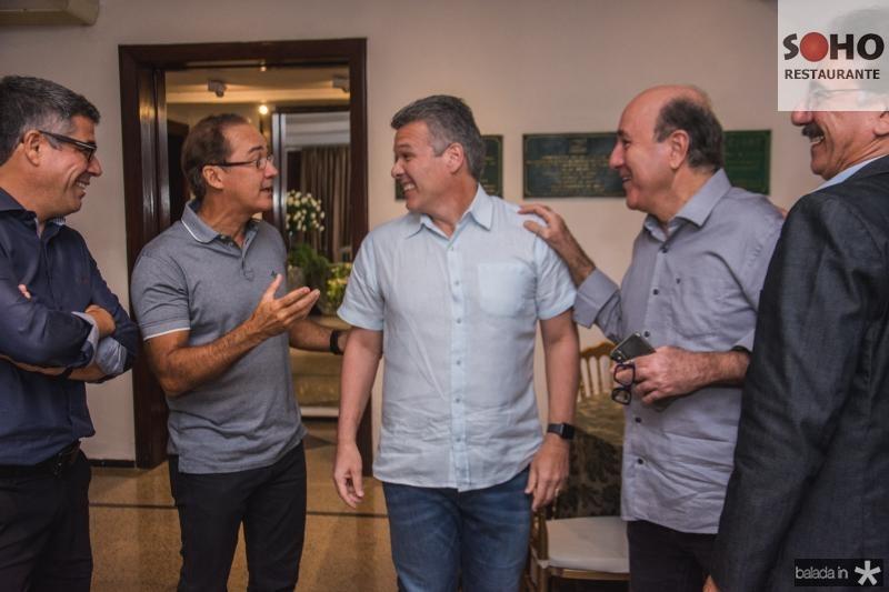 Cid Holanda, Claudio Brasil, Ferruccio feitosa, Silvio Frota e Helder Montenegro