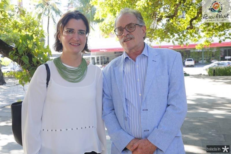 Manuela Nogueira e Eduardo Hotz