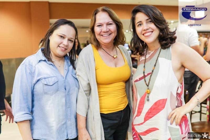 Andreia Lopes, Selene Penaforte e  Lara Rovere