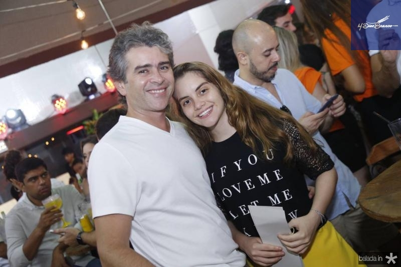 Ronaldo e Nicole Barbosa