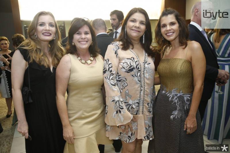 Isadora Carvalho, Sandra Martins, Celina Castro Alves e Claudia Diniz