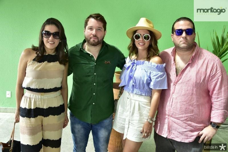 Fabiana Ribeiro, Victor Araujo, Ticiana Sampaio e Maciel Neto