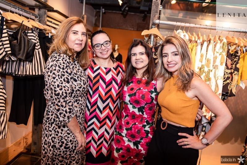 Joria Araripe, Claudia Pinheiro, Ticiana Brigido e Daniele Peixoto
