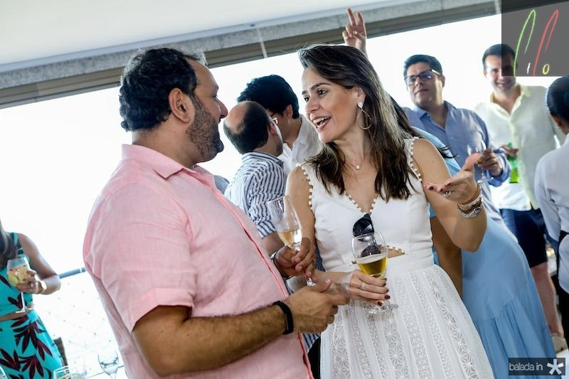 Patriolino Dias e Camila Benevides
