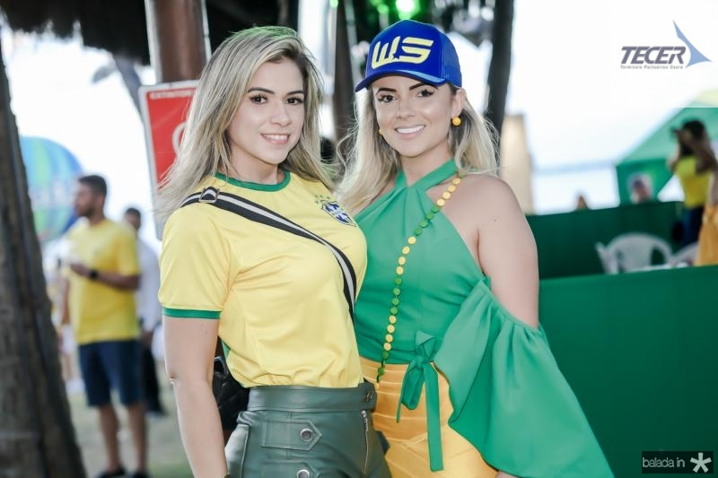 Alzira Bezerra e Adricia Cavalcante