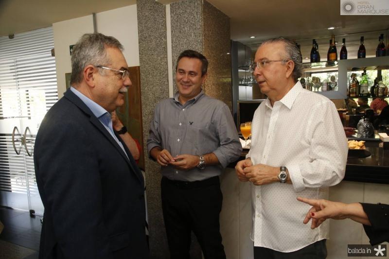 Assis Cavalcante, Francimi Chaves e Antonio Jose Mello