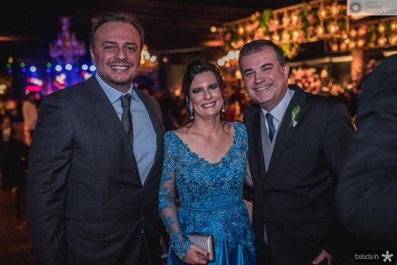 Adriano Nogueira, Luciana Bezerra e Ricardo Bezerra