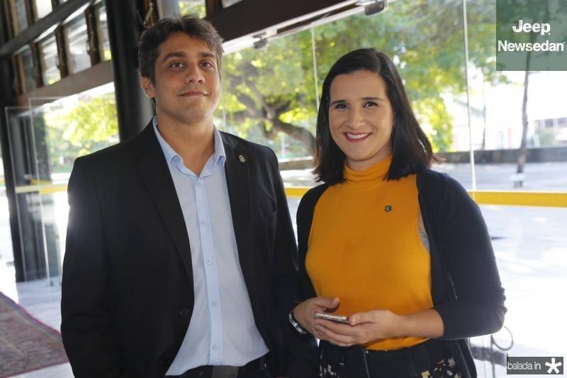 Felipe Goncalves e Sabrina Lima
