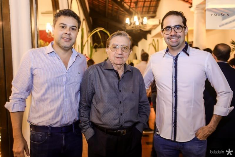 Gustavo Cruz, Josue e Pedro de Castro