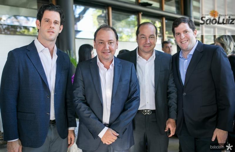 Eduardo Carneiro, Ariston Pessoa, Joaquim Araujo e Rodrigo Carneiro