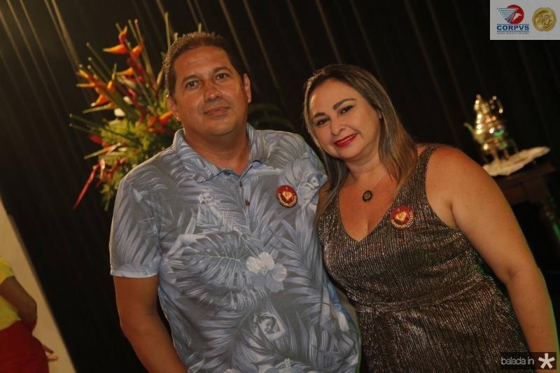 Julio Cesar e Adriana Juacaba