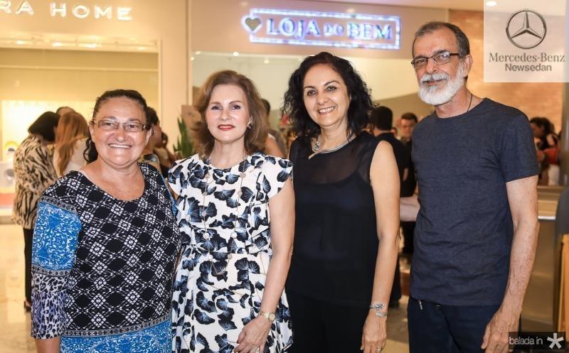 Lucia Araujo, Renata Jereissati, Patricia Veloso e Gentil Barreira
