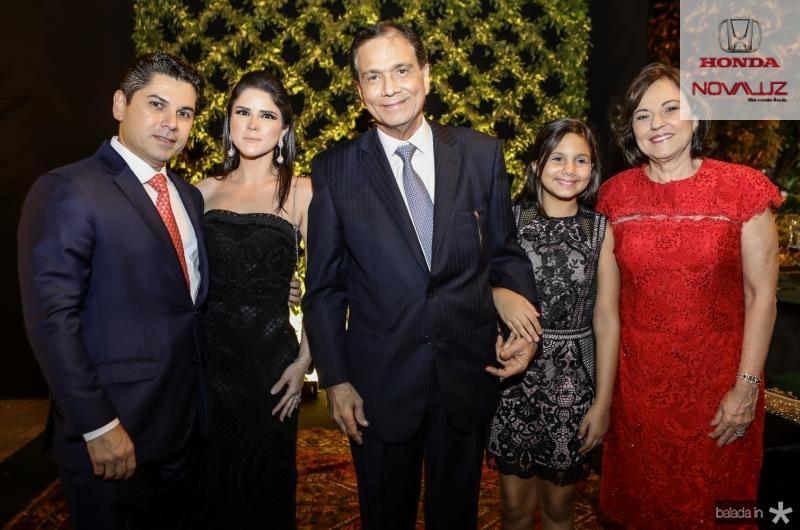 Pompeu e Marilia Vasconcelos, Beto, Giovana e Ana Studart