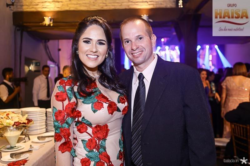 Camila Ribeiro e Leonardo Magalhaes