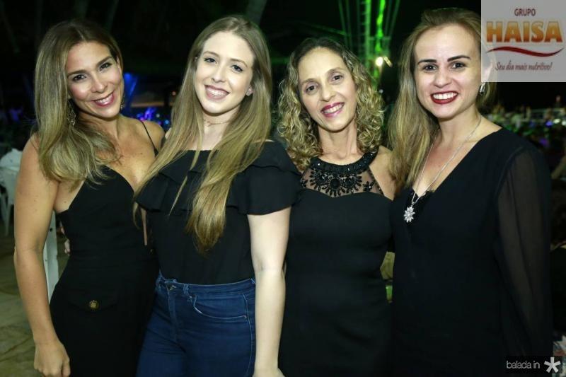 Idelfina, Maria Carolina e Eunir Pontes e Liana Furtado