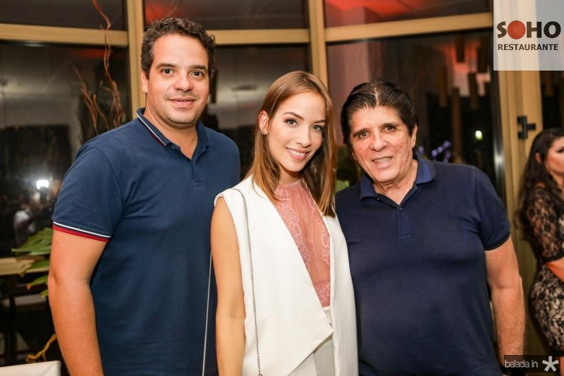 Thiago Holanda, Giovana Bezerra e Dito Machado