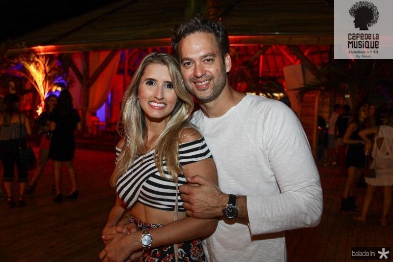 Ticiana Girão e Danilo Regis