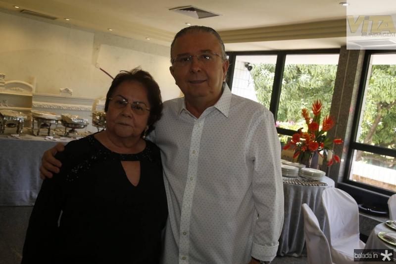Francilene Macedo e Antonio Jose Mello