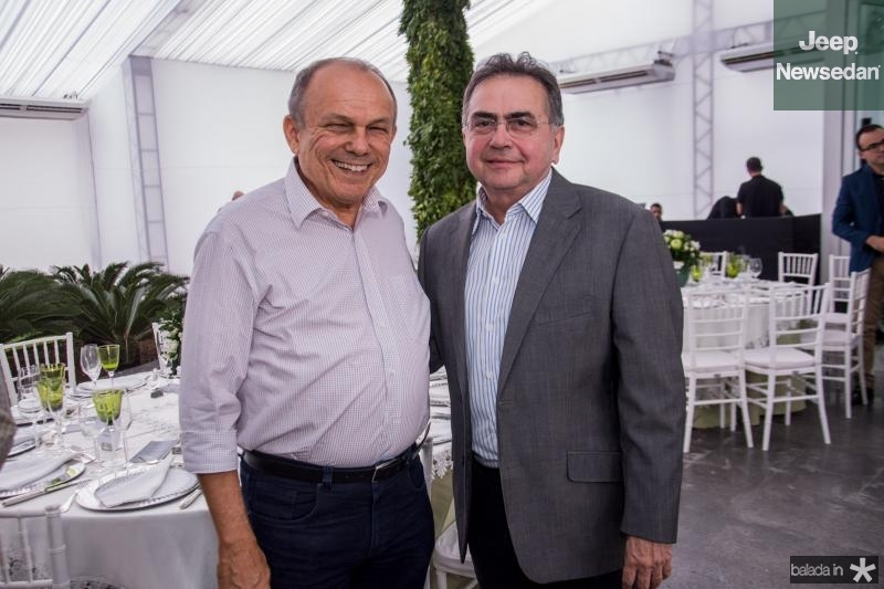 Honorio Pinheiro e Leonidas Cristino