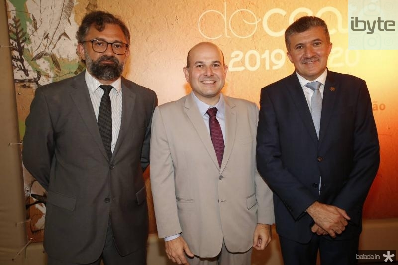 Jocelio Leal, Roberto Claudio e Antonio Henrique