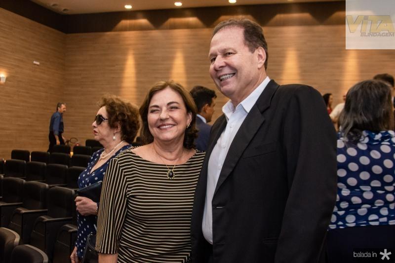 Ana Studart e Julio Ventura