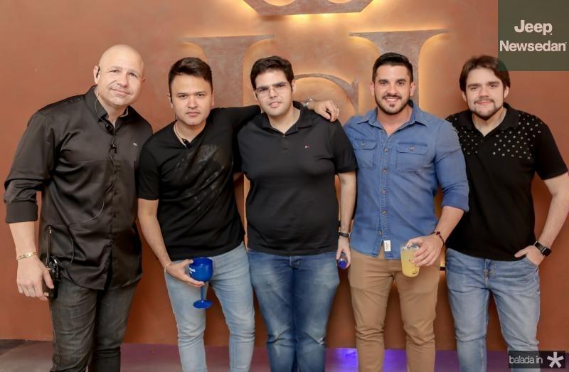 Gostosinho Rebouças, Jhonatan Rego, Rubens Sales, Vitor Braga e Felipe Amaral