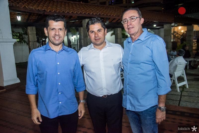 Erick Vasconcelos, Pompeu Vasconcelos e Darlan Leite