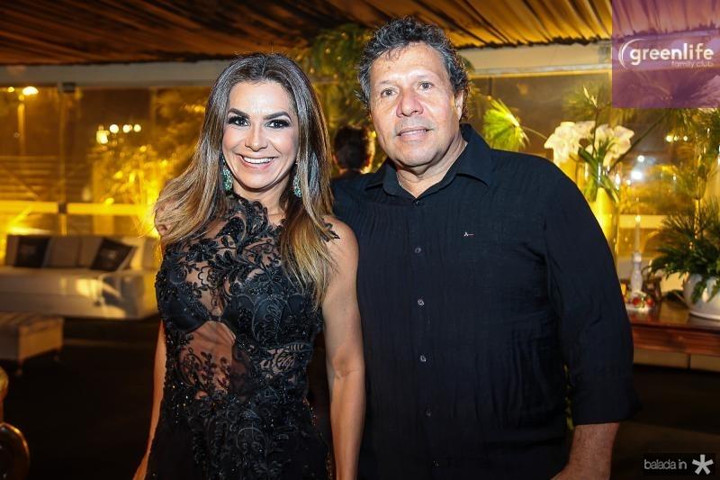 Cristina Pinto e Paulo Ronquairol