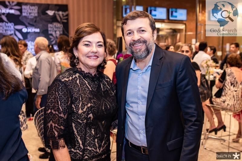 Ana Studart e Elcio Batista